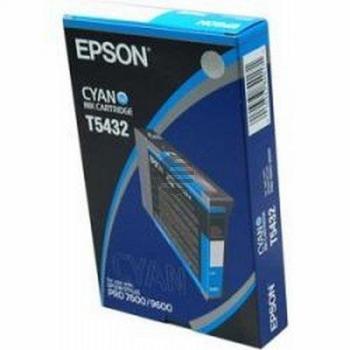 Epson Tintenpatrone cyan (C13T543200, T5432)
