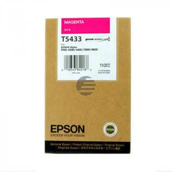 Epson Tintenpatrone magenta (C13T543300, T5433)