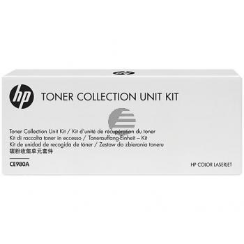 HP Tonerrestbehälter schwarz (CE980A)