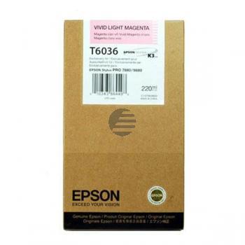 Epson Tintenpatrone magenta light HC (C13T603600, T6036)