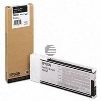 Epson Tintenpatrone schwarz matt (C13T614100, T6141)