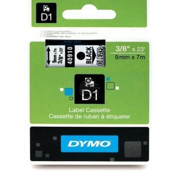 Dymo Schriftbandkassette schwarz/transparent (S0720670)