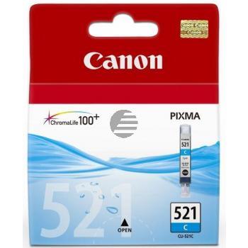 Canon Tintenpatrone cyan (2934B009, CLI-521C)