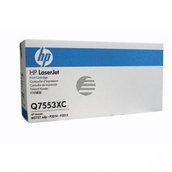HP Toner-Kartusche Contract schwarz HC (Q7553XC, 53XC)
