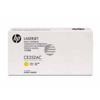 HP Toner-Kartusche Contract gelb (CE252AC, 504A)