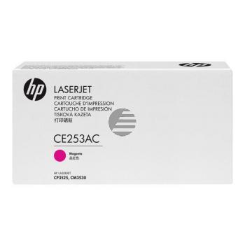 HP Toner-Kartusche Contract (nur für Vertragskunden) magenta (CE253AC)