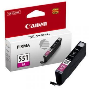 Canon Tintenpatrone magenta (6510B001, CLI-551M)