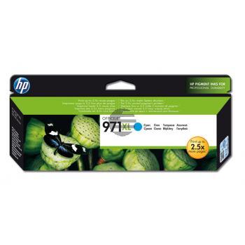 HP Tintenpatrone cyan HC (CN626AE, 971XL)