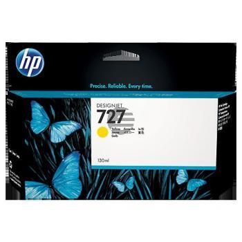 HP Tintenpatrone gelb HC (B3P21A, 727)