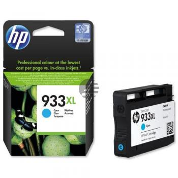 HP Tintenpatrone cyan HC (CN054AE#301, 933XL)