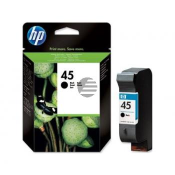 HP Tintendruckkopf Bulk 10 x schwarz HC (CG339A, 45)