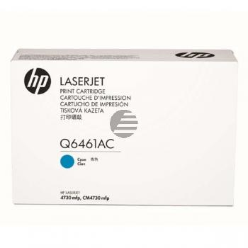 HP Toner-Kartusche Contract cyan (Q6461AC, 61AC)