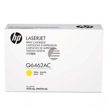 HP Toner-Kartusche Contract gelb (Q6462AC, 62AC)