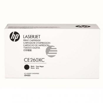 HP Toner-Kartusche Contract (nur für Vertragskunden) schwarz (CE260XC, 649XC)