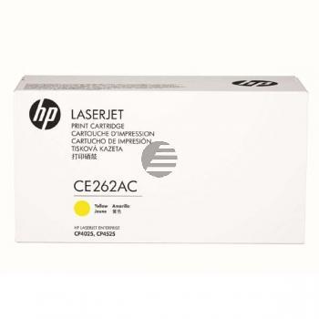 HP Toner-Kartusche Contract (nur für Vertragskunden) gelb (CE262AC, 648AC)