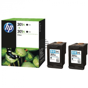 HP Tintendruckkopf schwarz (D8J45AE, 2 x 301XL)