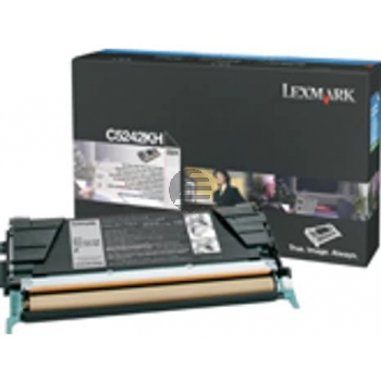 Lexmark Toner-Kartusche Corporate schwarz (C524H3KG)