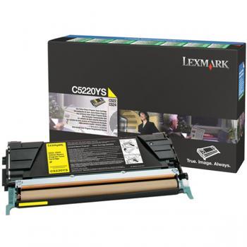Lexmark Toner-Kartusche gelb (C522A3YG)