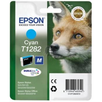 Epson Tintenpatrone cyan (C13T12824011, T1282)