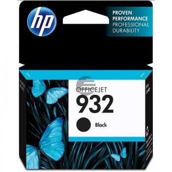 HP Tintenpatrone schwarz (CN057AE#BGX, 932)