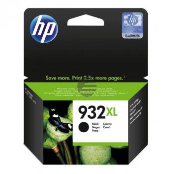 HP Tintenpatrone schwarz HC (CN053AE#BGX, 932XL)