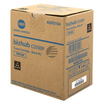 Konica Minolta Toner-Kit schwarz (A0X5154, TNP-50K)