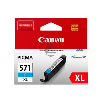 Canon Tintenpatrone cyan HC (0332C001, CLI-571XLC)