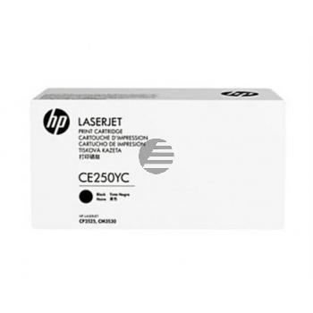 HP Toner-Kartusche Contract schwarz HC (CE250YC, 504Y)