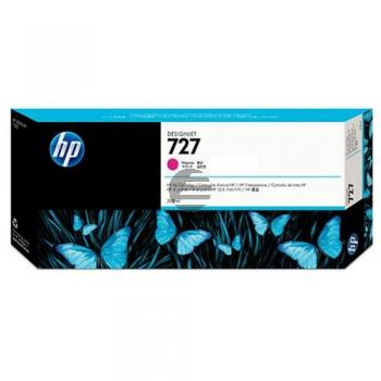 HP Tintenpatrone magenta HC plus (F9J77A, 727)