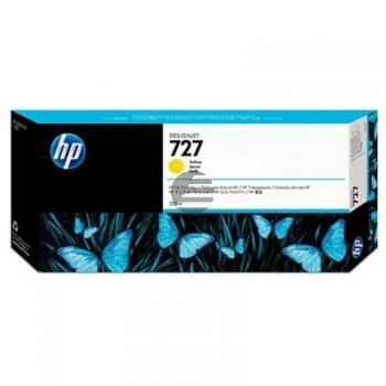 HP Tintenpatrone gelb HC plus (F9J78A, 727)