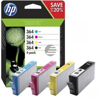 HP Tintenpatrone gelb, cyan, magenta, schwarz (N9J73AE, 364)