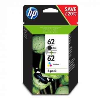 HP Tintendruckkopf cyan/gelb/magenta, schwarz (N9J71AE, 62)