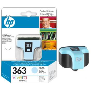 HP Tintenpatrone cyan light (C8774EE#UUS, 363)