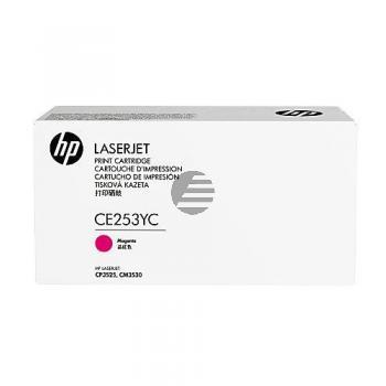 HP Toner-Kartusche Contract magenta (CE253YC)