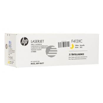 HP Toner-Kartusche Contract gelb HC (CF412XC, 410X)