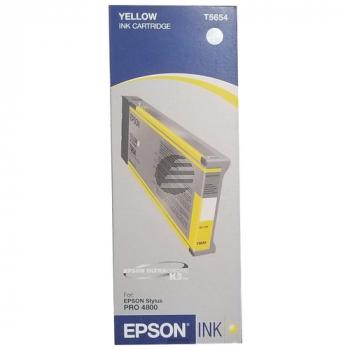 Epson Tintenpatrone gelb HC (C13T565400, T5654)