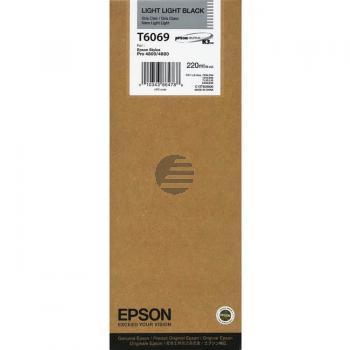 Epson Tintenpatrone schwarz light, light HC (C13T606900, T6069)