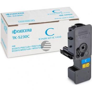 Kyocera Toner-Kartusche cyan HC (1T02R9CNL0, TK-5230C)
