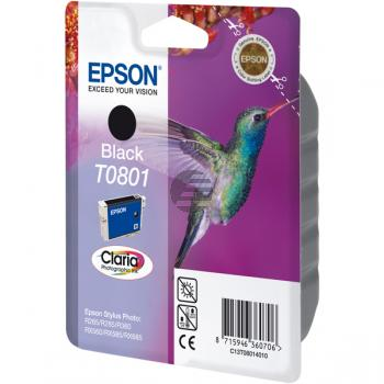 Epson Tintenpatrone schwarz (C13T08014021, T0801)
