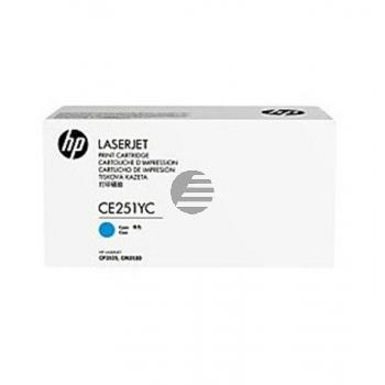 HP Toner-Kartusche Contract cyan (CE251YC)