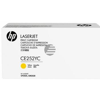 HP Toner-Kartusche Contract gelb (CE252YC, 504A)