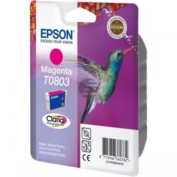 Epson Tintenpatrone magenta (C13T08034021, T0803)