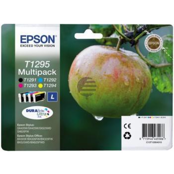 Epson Tintenpatrone gelb, cyan, magenta, schwarz SC (C13T12954012, T1295)