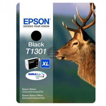 Epson Tintenpatrone schwarz HC (C13T13014012, T1301)