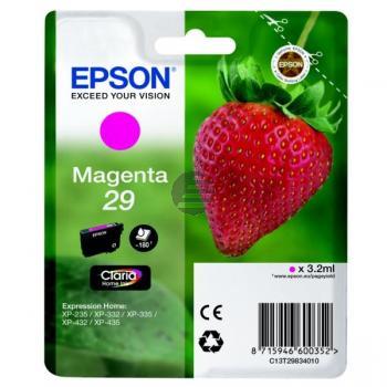 Epson Tintenpatrone magenta (C13T29834012, T2983)