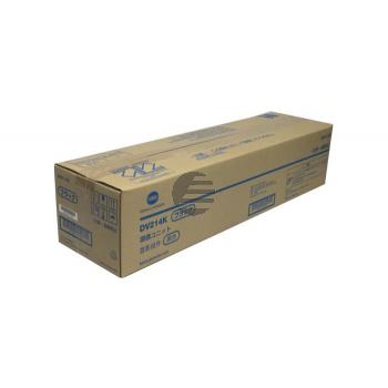 Konica Minolta Entwickler schwarz (A85Y03D, DV-214K)