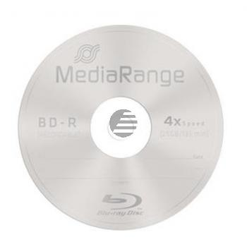 MEDIARANGE BD-R 25GB 4x (10) CB MR495 Cake Box