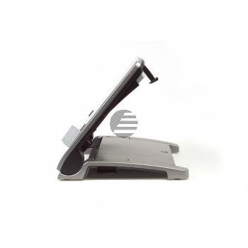 BNET340 BAKKER NOTEBOOKSTAENDER Ergo T340 grau-silber Kunststoff