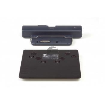 BNEPRM340 BAKKER NOTEBOOKSTAENDER Ergo T340 silber-schwarz Kunststoff