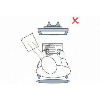 BNEFDESK640 BAKKER DOKUMENTENHALTER FlexDesk 640 transparent Kunststoff